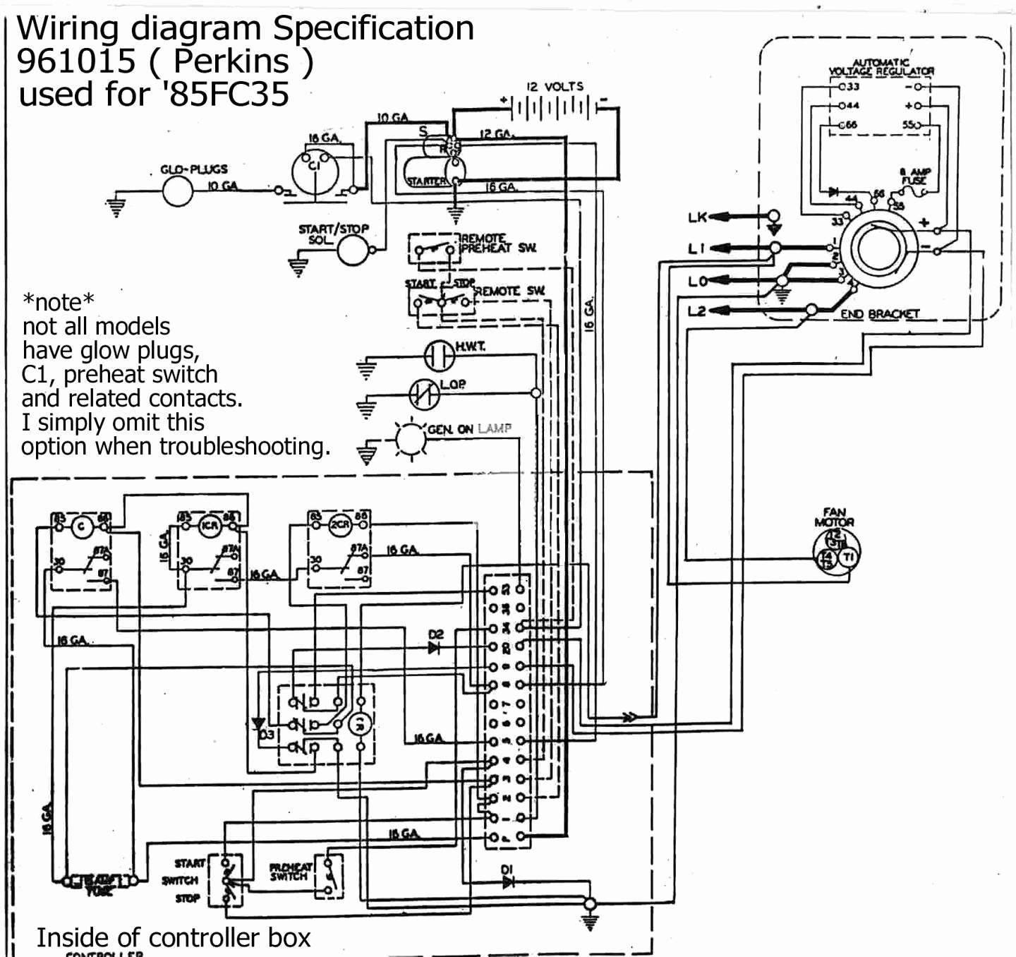 Wiring Diagram Backup Generator