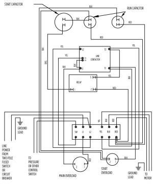 Submersible Pump Control Box Wiring Diagram | Free Wiring