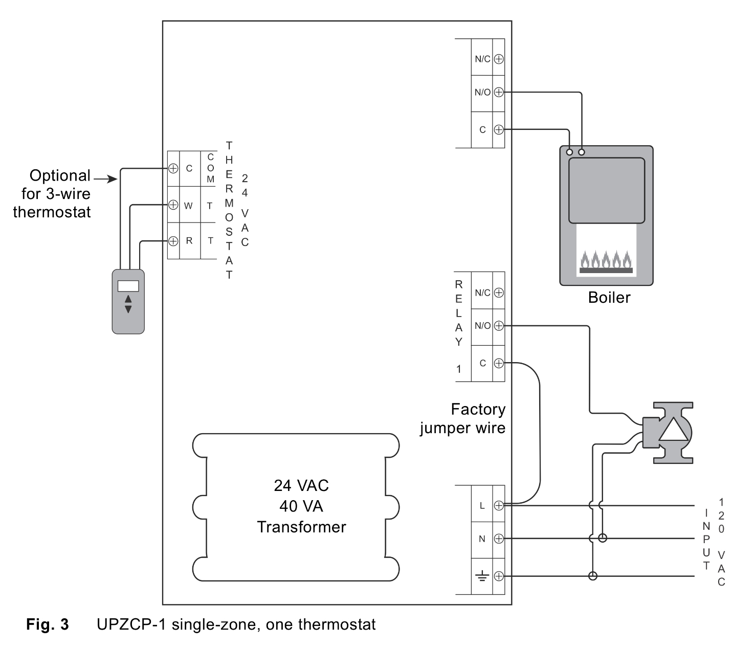 Taco 3 Wire Zone Valve Wiring Diagram