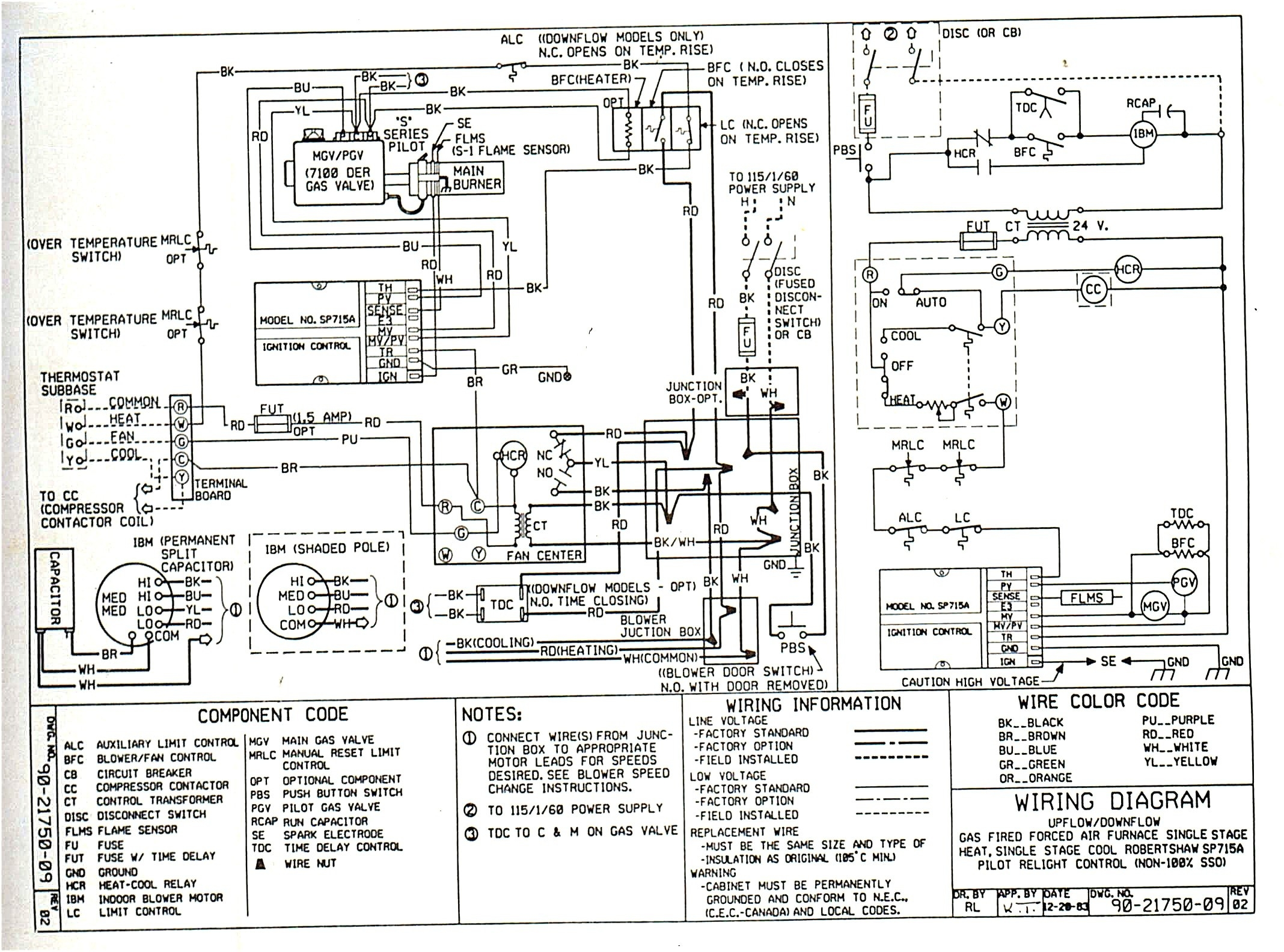 Furnace Schematic