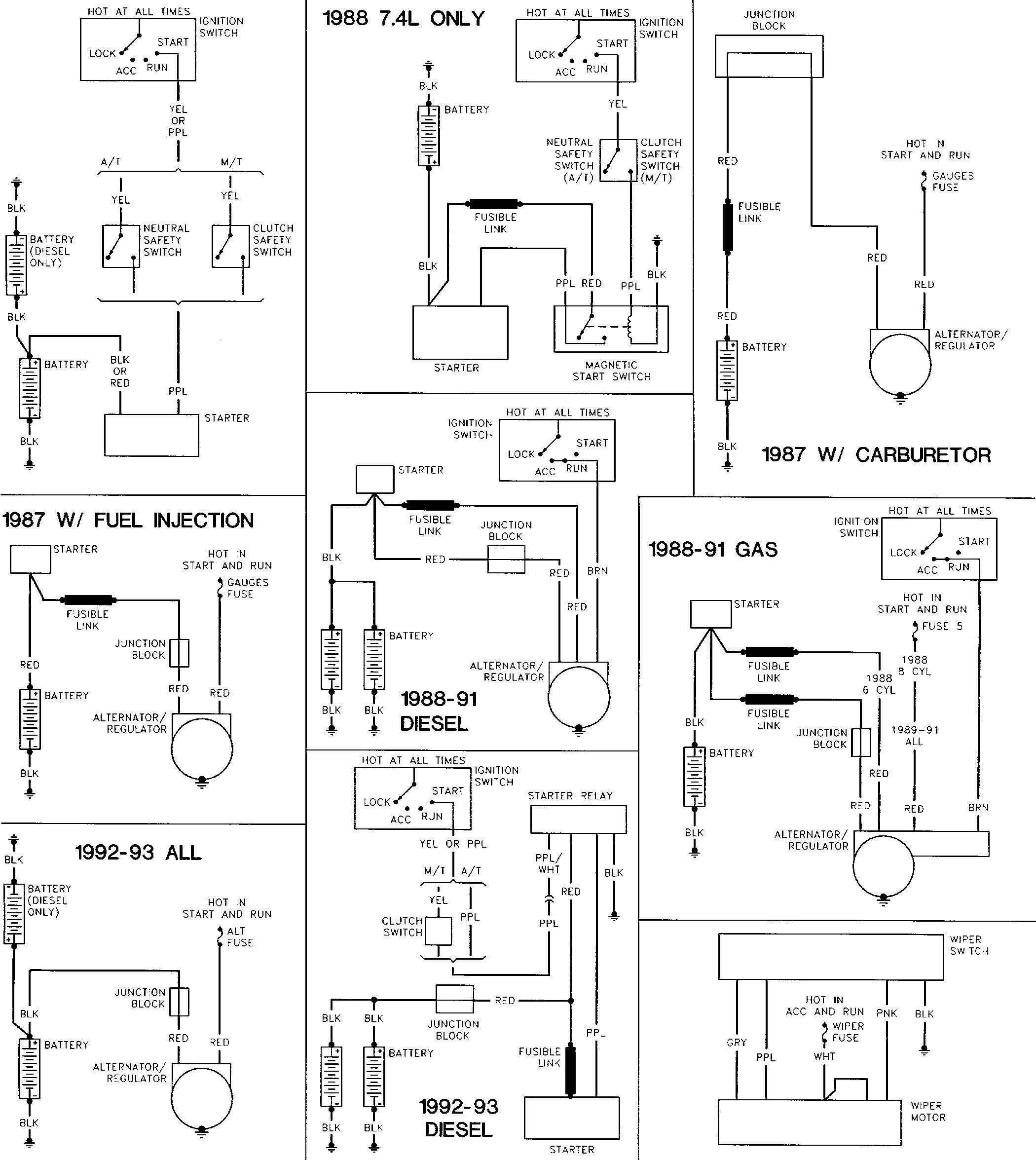 School Bus Motor Wiring Diagram