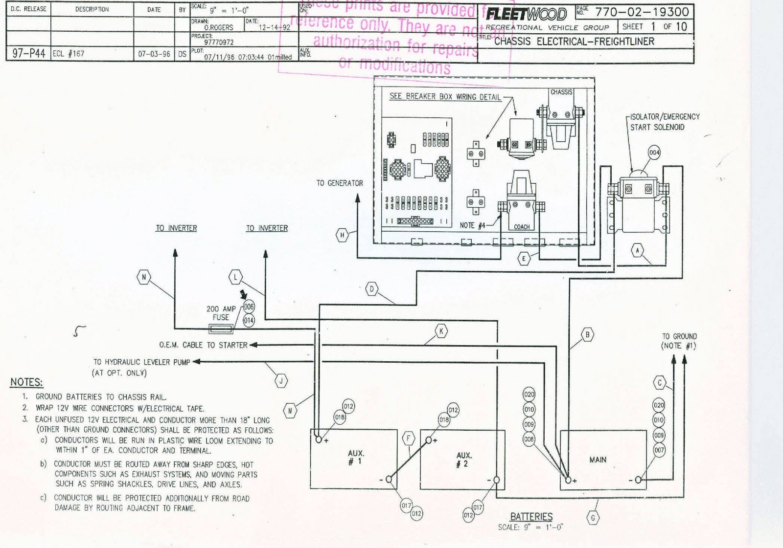 1984 Pace Arrow Wiring Diagram | Wiring Diagram