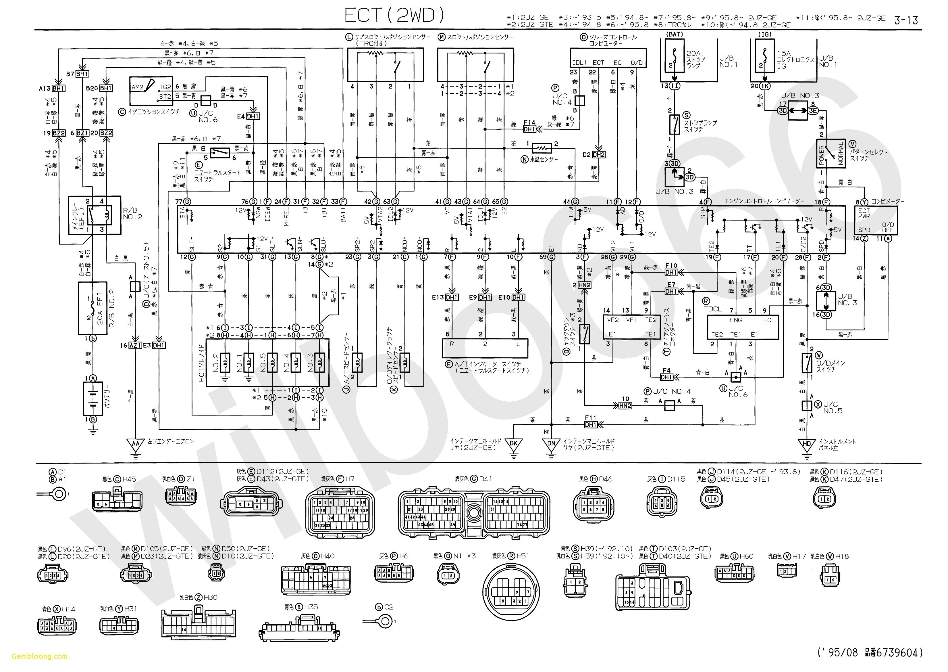 Toyota Electrical Wiring Diagram