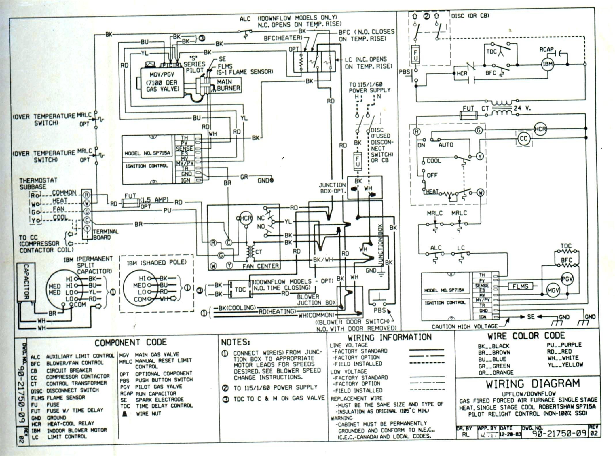 Trane Condenser Wiring Diagram