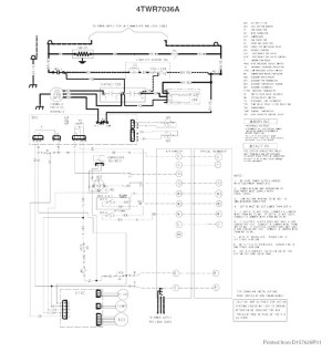 Trane Wiring Diagram Heat Pump | Free Wiring Diagram