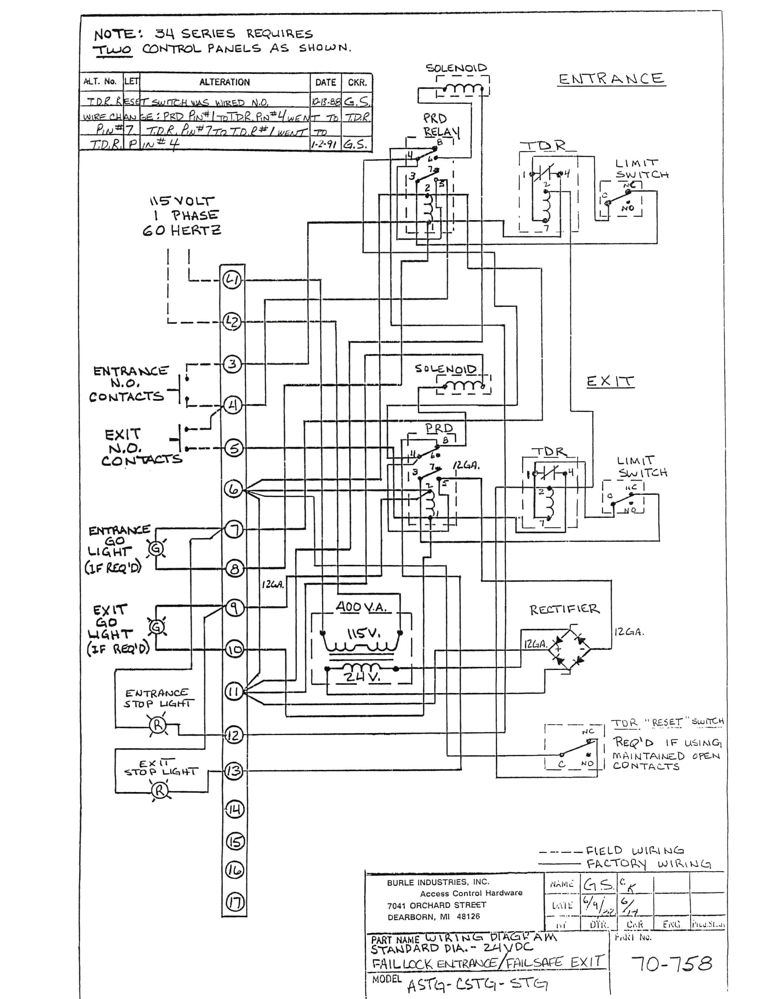 Trane Air Handler Wiring Schematics - Wiring Diagrams List on