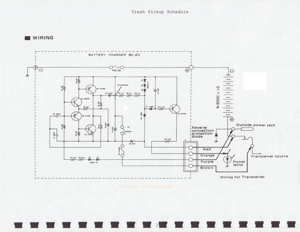 wiring circuits diagram