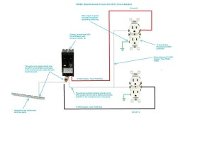 Two Pole Gfci Breaker Wiring Diagram | Free Wiring Diagram