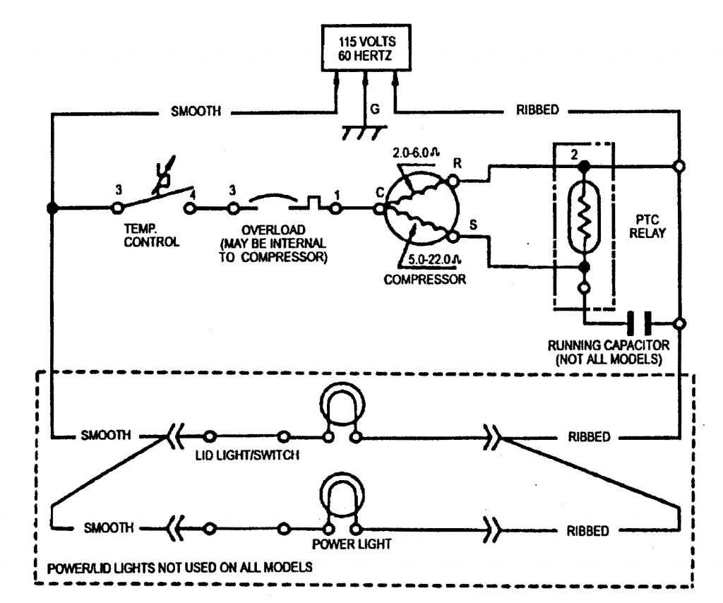 General Electric Freezer Wiring Diagram