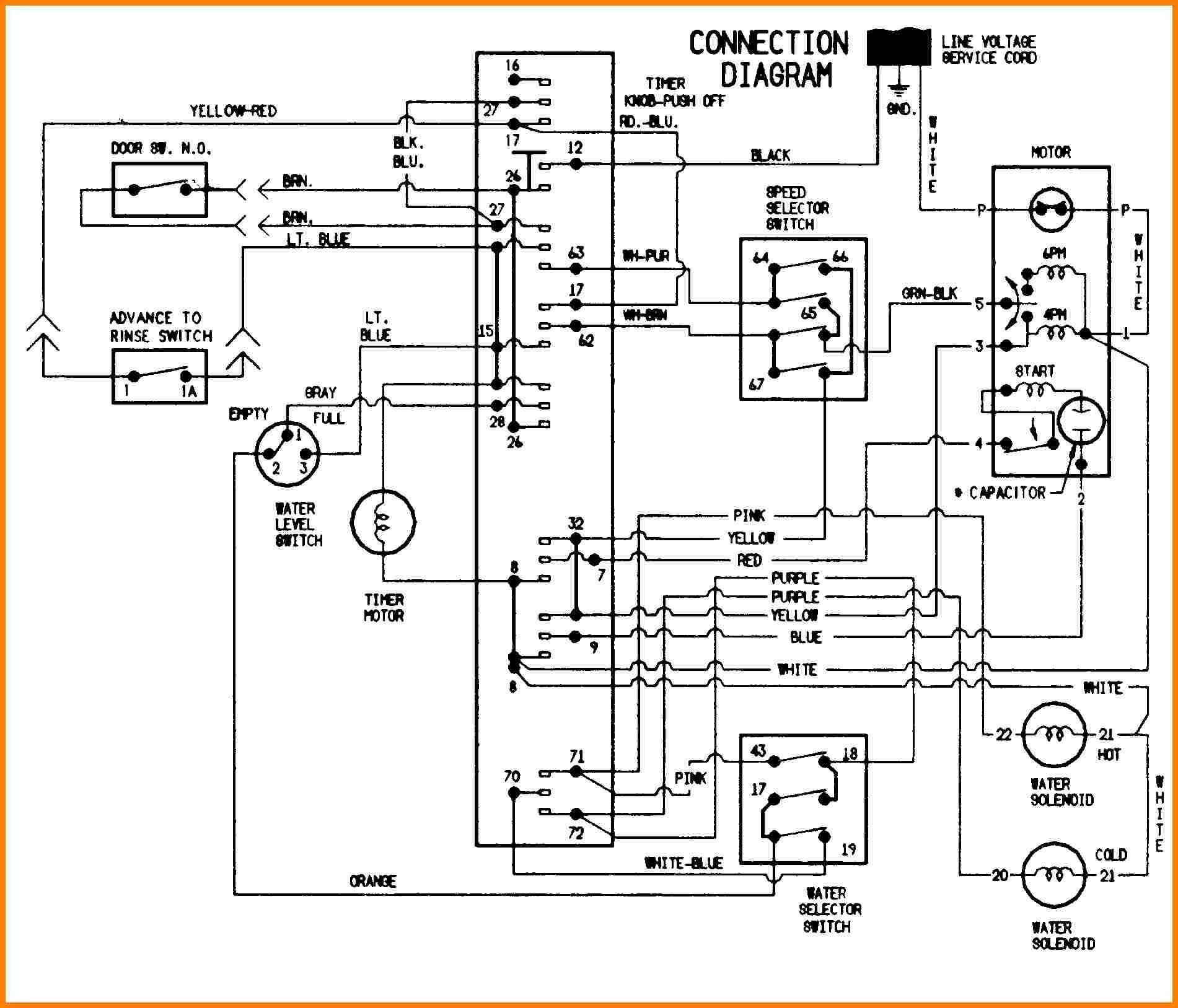 Indesit Washing Machine Wiring Diagram