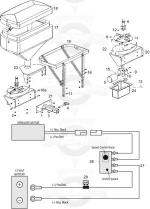 Western 1000 Salt Spreader Wiring Diagram | Free Wiring
