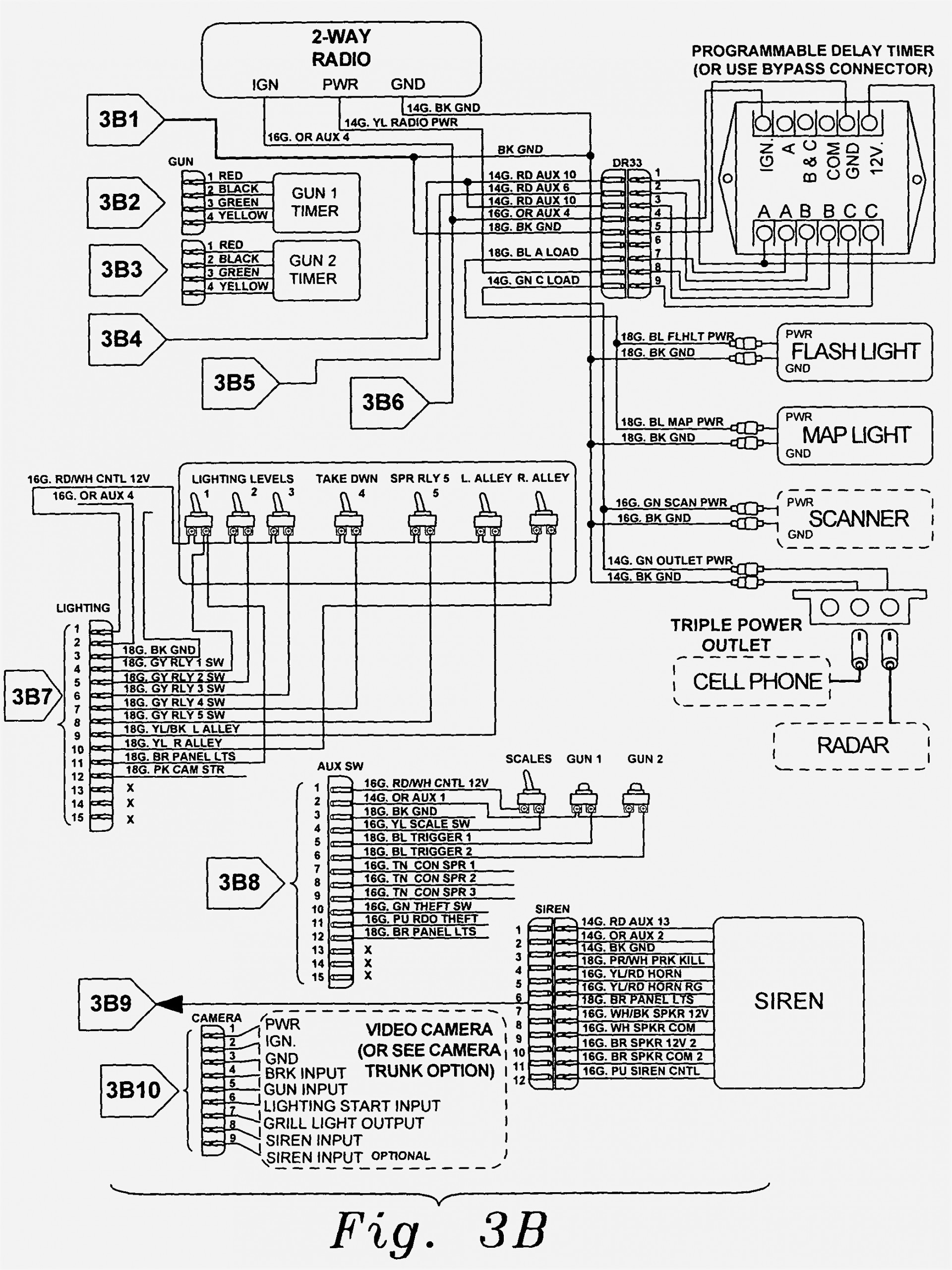 Wobbulator Siren Wiring Diagram