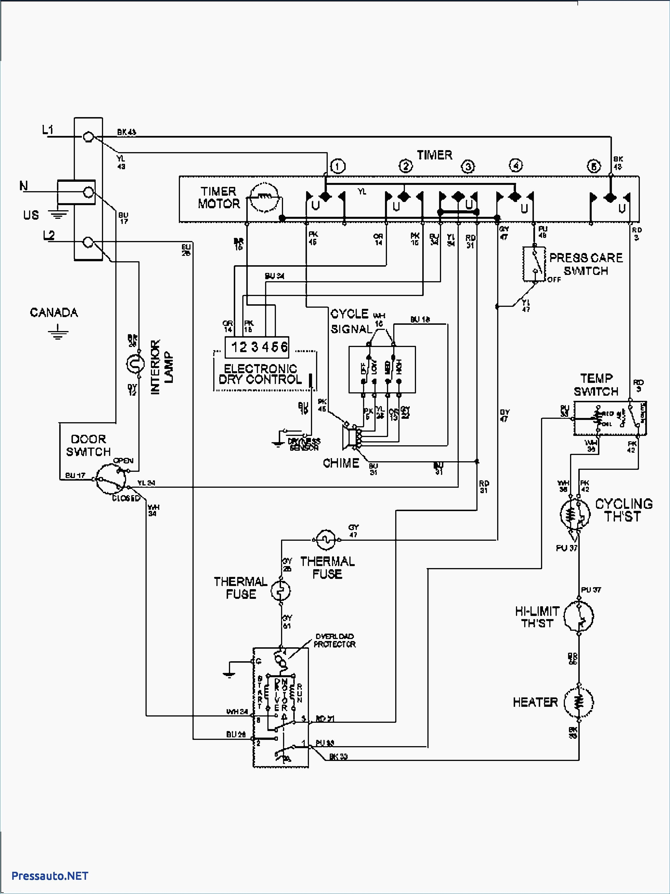 Dryer Schematic