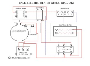 Wiring Diagram for Hot Water Heater thermostat | Free