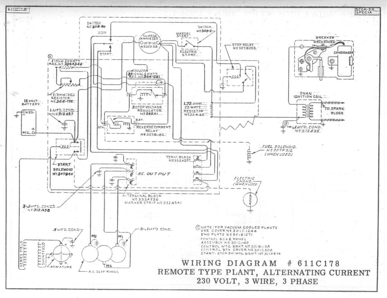 Wiring Diagram For Onan Generator