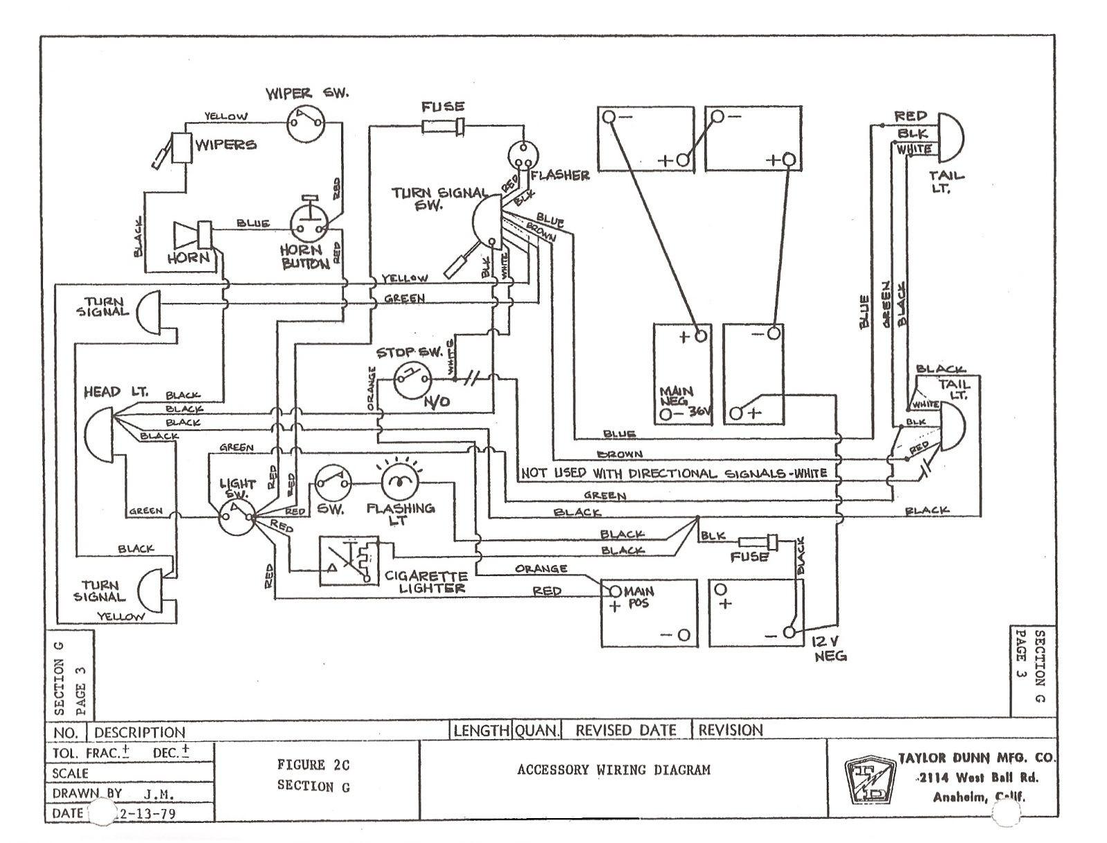 Yamaha Golf Cart Wiring Diagram