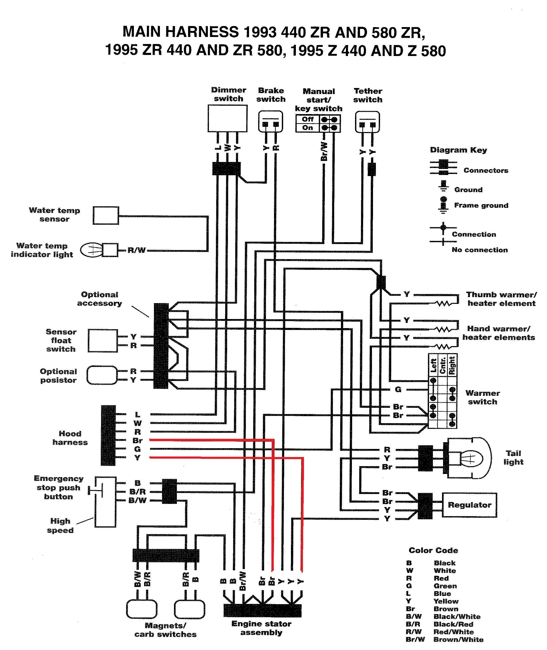 Wiring Diagram For A Yamaha Kodiak 400