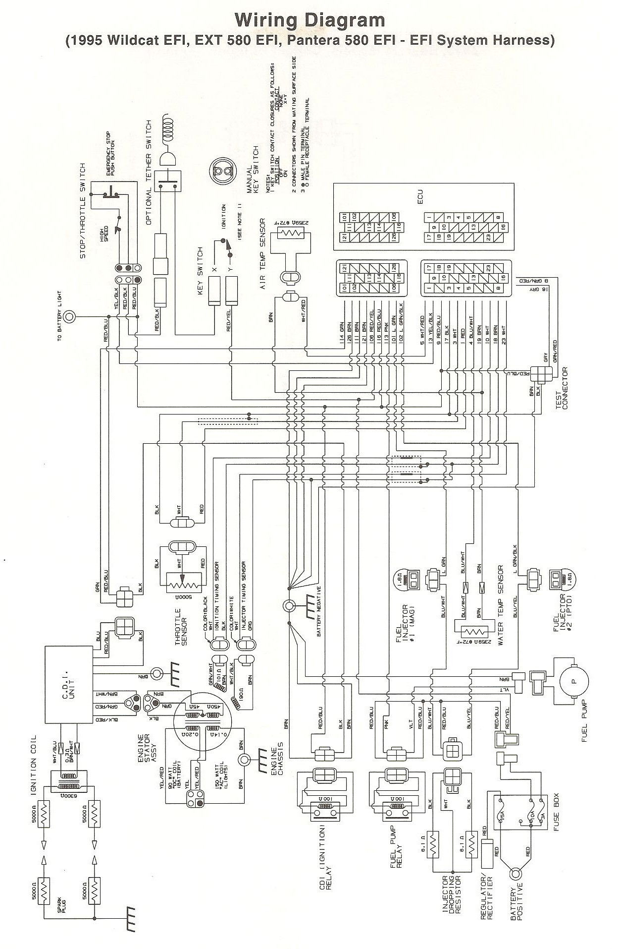 Yamaha Ignition Wiring Diagram