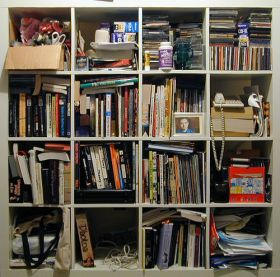 book shelf project 1 by striatic
