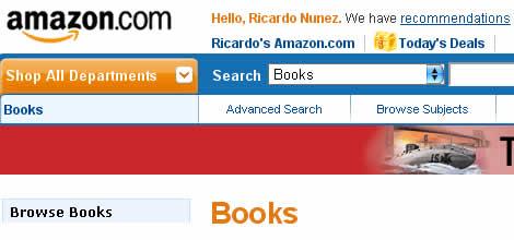 Amazon Books - Ricardo Nuñez Blog