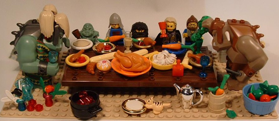thanksgiving legos