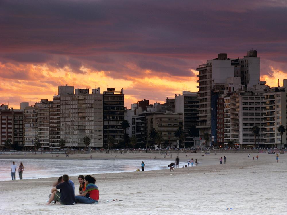Rambla, Montevideo, Uruguay