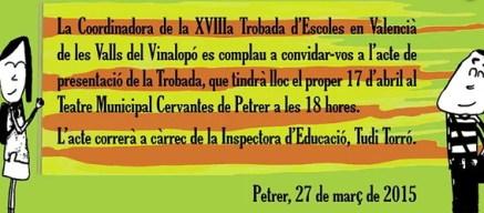 """Los actos a los que acudía la comisaria o """"Inspectora Tudi Torró"""" se engalanaban con las cuatro barras de los inexistentes Países Catalanes y, por supuesto, todo estaba en el catalán que defendía la coronavirus Tudi."""