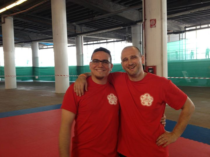 Con mio fratello di Kung Fu Gianluca Giusto