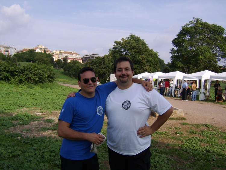 Con Massimiliano Tognarelli, un ottimo amico
