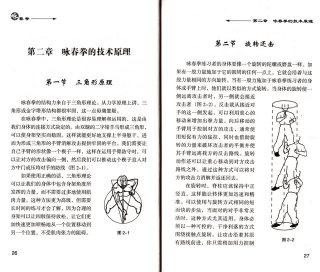 posizione ruotata nel Wing Chun