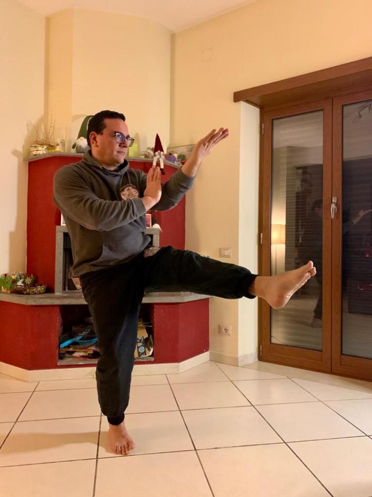 la pratica del Wing Chun aiuta a gestire la postura