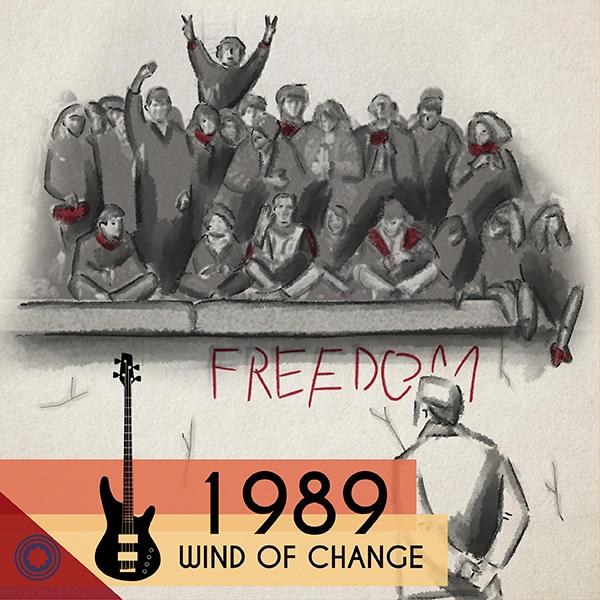 """""""1989 – Wind of Change"""", il mio podcast sull'anno che travolse l'Europa."""