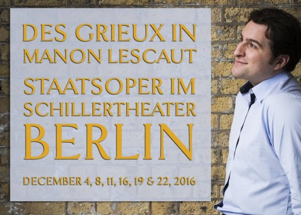Manon Lescaut at the Berliner Staatsoper im Schillertheater