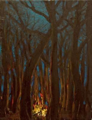il racconto illuminante - 27x35 -oil on canvas - 2013