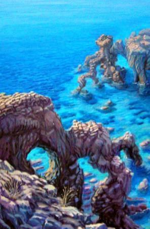 costa degli elefanti - 40x60 - oil on canvas - 2008