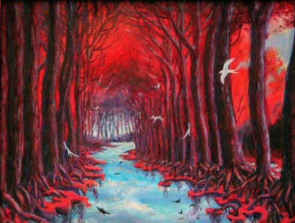 Non luogo - 40x30 - oil on canvas -2005