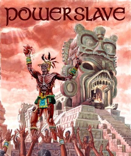 Powerslave - manifesto per concerto hard rock