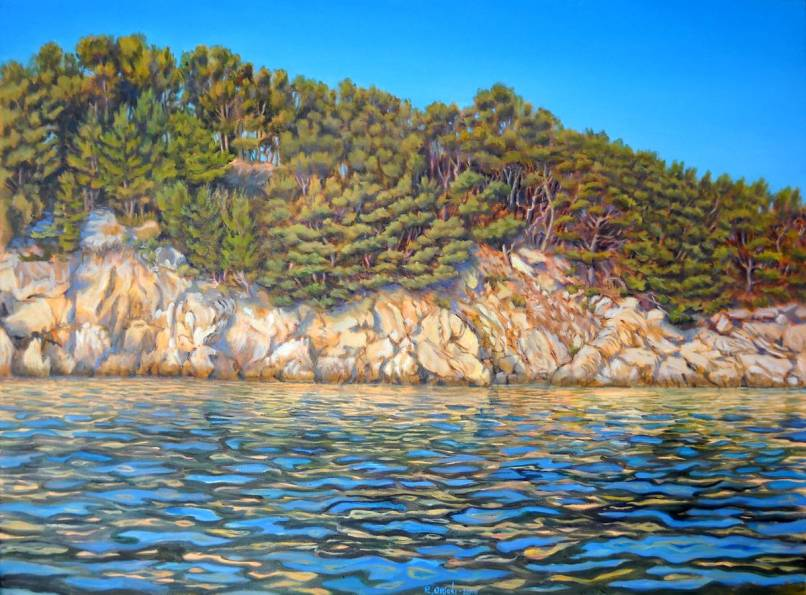 vicino Gradina - 80x60 - oil on canvas - 2010