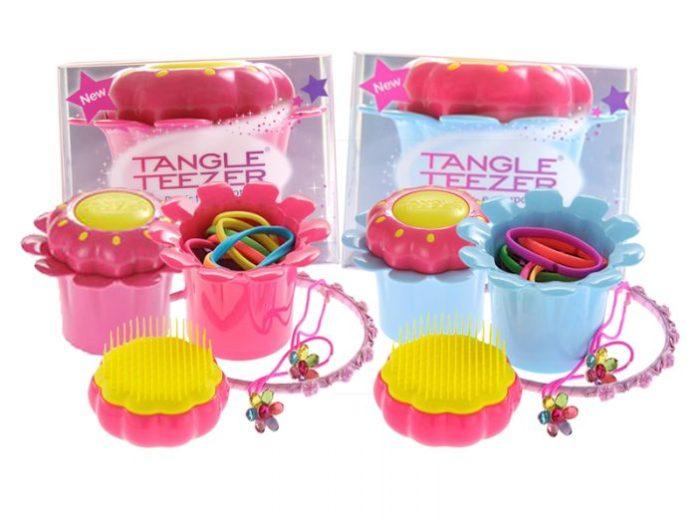 Tangle Teezer Magic flower pop spazzola districante per i capelli ricci dei bambini - Ricciomatto