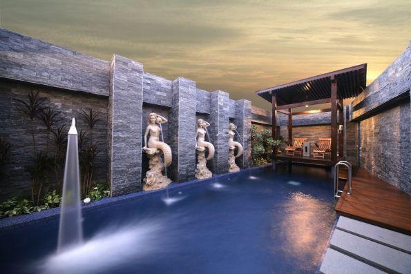杜拜風情汽車旅館