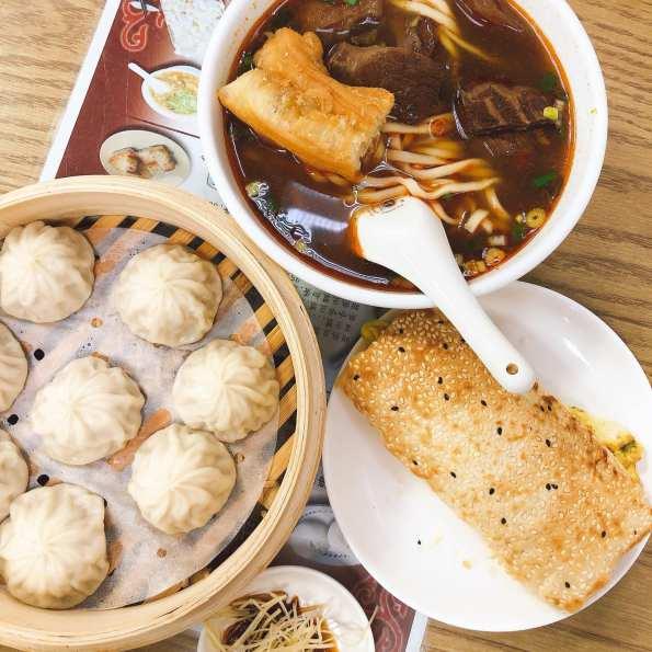 江家牛肉麵&永和豆漿