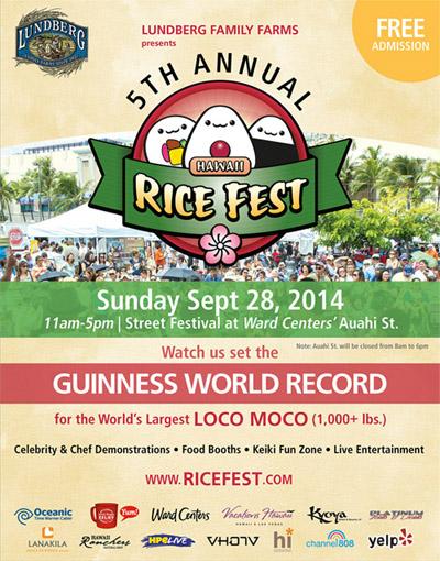 Rice Fest 2014