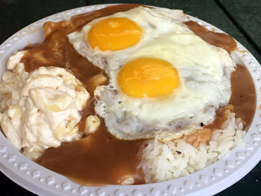 Rainbow Drive In Loco Moco Eating Competition Rice Fest