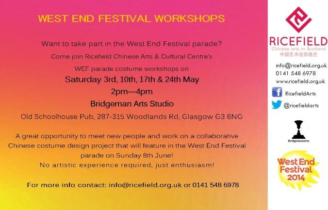 WEF workshop May