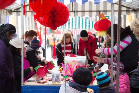 Chinese New Year Stall
