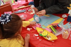 Paper Craft at Glasgow Mela 2017