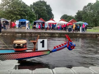 Dragon Boat at Glasgow Canal Festival