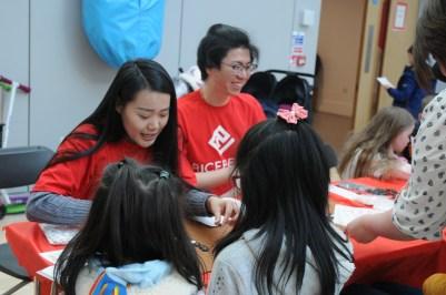 Volunteers at CNY