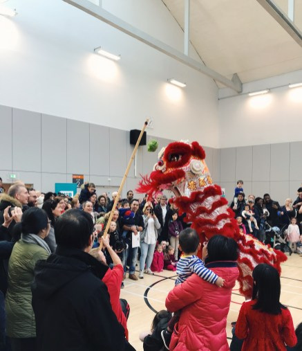 Lion Dance at Kelvin Hall