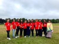 The festival volunteer team